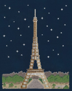 DMC Cross Stitch Kit - Mr X Stitch - Paris by Night