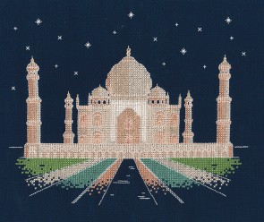 DMC Cross Stitch Kit - Mr X Stitch - Agra by Night