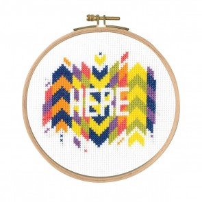 DMC Counted Cross Stitch Kit - Here