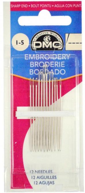 DMC Size 1-5 Embroidery Needles