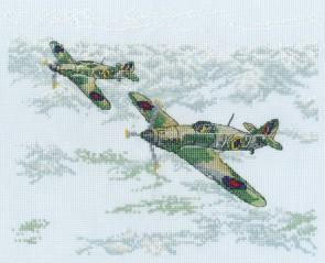 DMC Cross Stitch Kit - Military - The Other Few