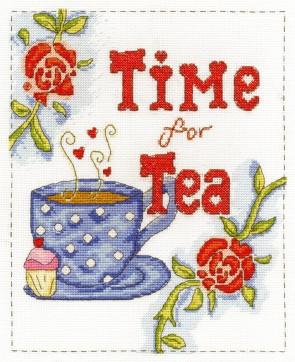 DMC Cross Stitch Kit - Modern - Time For Tea