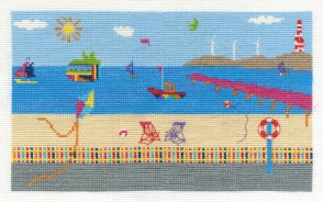 DMC Cross Stitch Kit - By The Seaside - Sea View