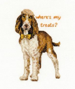 DMC Cross Stitch Kit - Dogs - Springer Spaniel