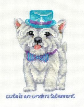 DMC Cross Stitch Kit - Dogs - Westie