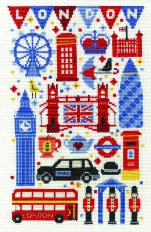DMC Cross Stitch Kit - London - London Attractions