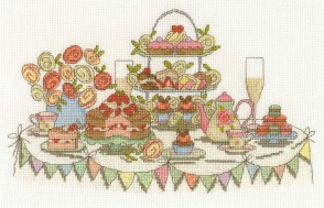 DMC Cross Stitch Kit - Afternoon Tea - Afternoon Tea Party