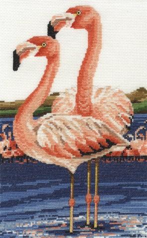 DMC Cross Stitch Kit - Safari Animals - Twos Company