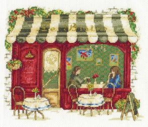 DMC Cross Stitch Kit - Vintage - Le Bistro