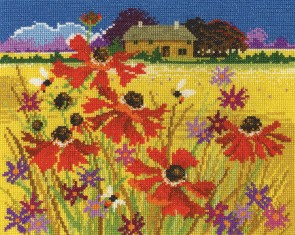 DMC Cross Stitch Kit - Seasonal Landscapes - Autumn Pasture