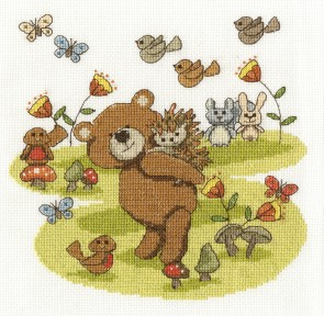 DMC Cross Stitch Kit - The Fabulous Forest - Best Buddies