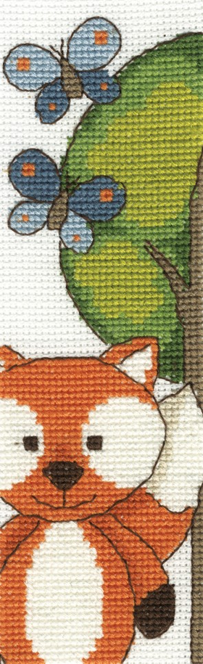 DMC Cross Stitch Kit - The Fabulous Forest - Butterfly Fun