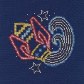 DMC Counted Cross Stitch Kit - Aquarius