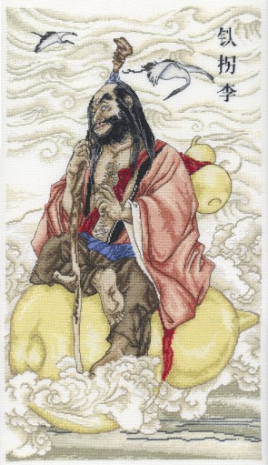 DMC Cross Stitch Kit - Chinese Immortals - Immortal 1