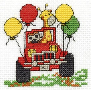 DMC Cross Stitch Kit - Make A Wish - Go On A Safari Trip