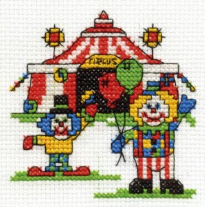 DMC Cross Stitch Kit - Make A Wish - A Trip To The Circus