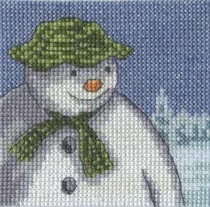DMC Cross Stitch Kit - The Snowman - Fir Trees