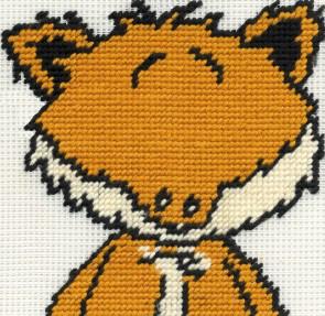 DMC Childrens Tapestry Kit - Woodland Folk - Toby Fox
