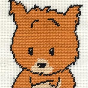 DMC Childrens Tapestry Kit - Woodland Folk - Sally Squirrel