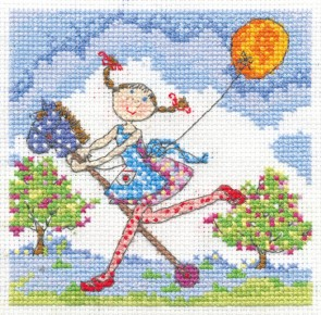 DMC Cross Stitch Kit - Lili Loves - Lili Loves Adventures