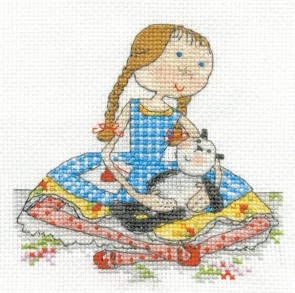 DMC Cross Stitch Kit - Lili Loves - Lili Loves Pickle