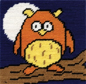 DMC Childrens Tapestry Kit - Owls Hoot - C060K