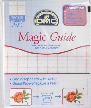 14 Count Magic Guide 14x18 Inches (35x45cm) - Blanc - DC27MG