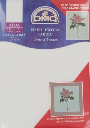 18 Count Aida Fabric 20x30 Inches (50x75cm) - DC38/712