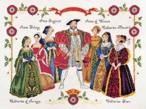 DMC Cross Stitch Kit - Kings And Queens - Henry VIII