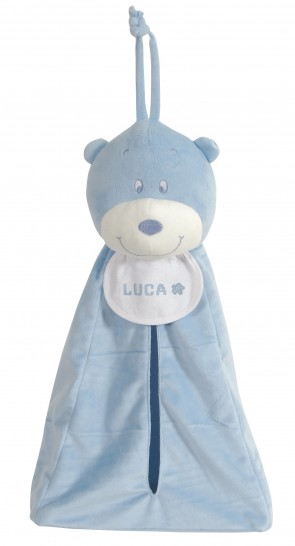 Stitch A Teddy - Blue Storage Teddy