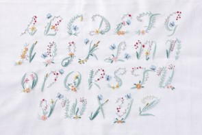 DMC Embroidery Kit - Butterfly Alphabet