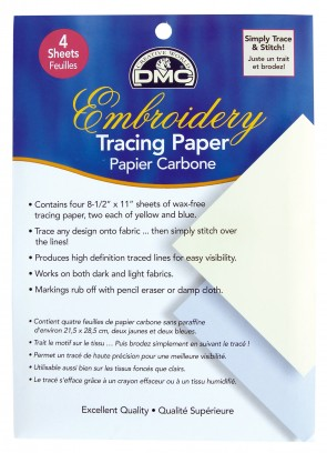 DMC U1541 Embroidery Tracing Paper