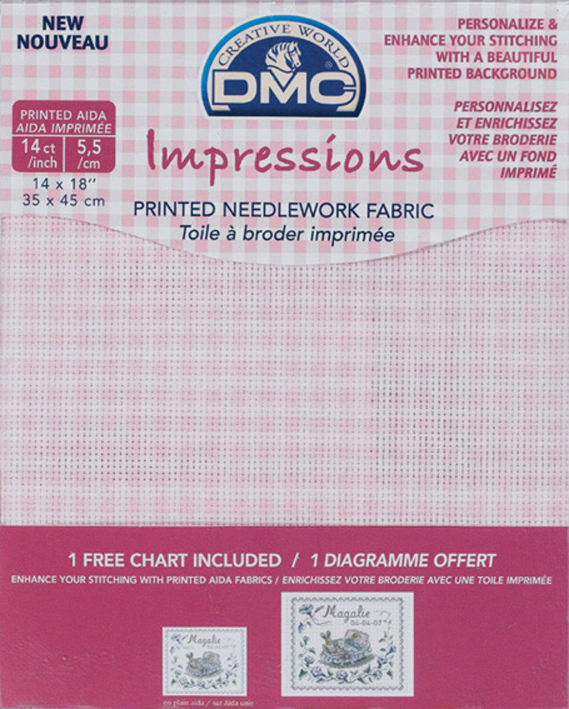 Dmc Aida Cross Stitch Fabric Cloth All Colours And Sizes